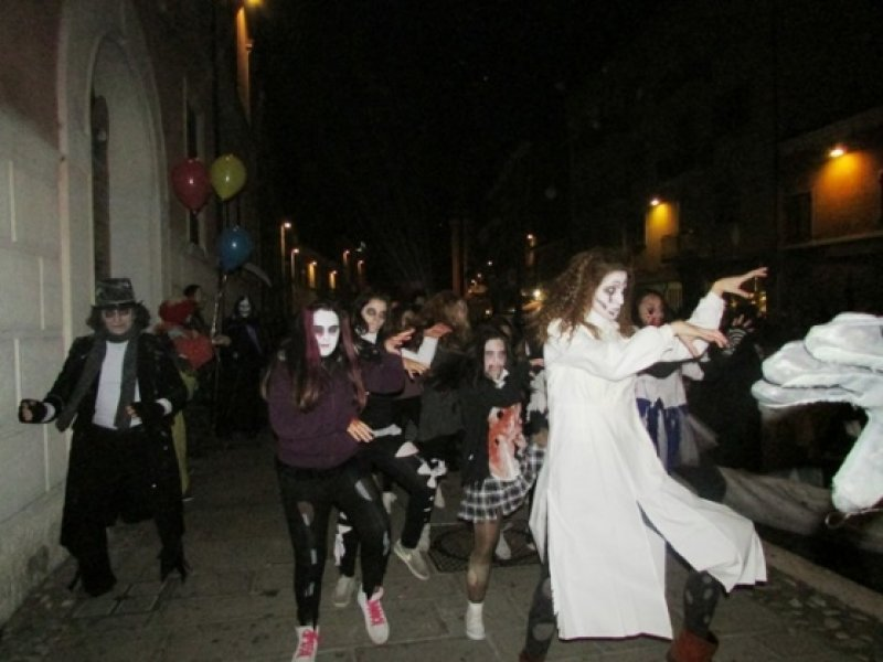 Halloween party in Comacchio