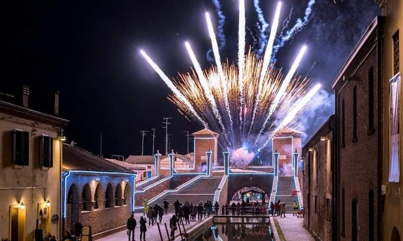 New Year's Eve in Comacchio