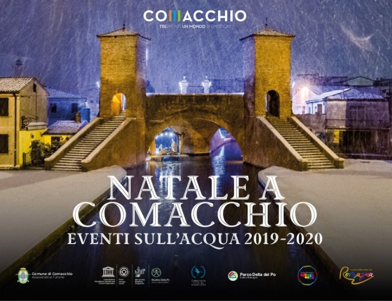 Comacchio: Cristmas on the water 2019/2020